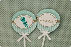 Festa Pronta - Chá de bebê - Tuty - Arte & Mimos www.tuty.com.br Que tal usar esta inspiração para a próxima festa? Entre em contato com a gente! www.tuty.com.br #festa #personalizada #party #bday #birthday #tuty #Happy #love #party #Bday #Cute