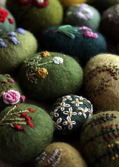 stitches on wool by lilfishstudios, via Flickr