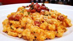 Somogyi galuska ~ nokedli recept @Szoky konyhája Hungarian Cuisine, Izu, Cauliflower, Macaroni And Cheese, Beverages, Vegetables, Ethnic Recipes, Youtube, Food