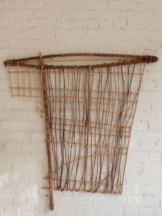 Woven Wall Hanging created in Mexico as a collaboration between the architect Tim Koelle and a local Craftsman.