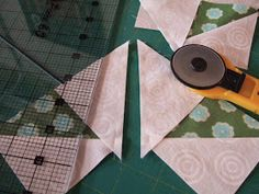 I've been working on my Snowflake Medallion quilt and it's ready to have a round of Flying Geese pieced to it. Several years ago I learned...