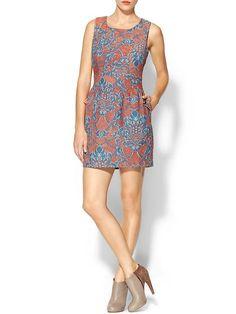 Tulle Jacquard Dress | Piperlime