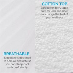Pure Cotton Waterproof Fitted Mattress Cover with TPU in Seberang Perai