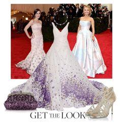 """Get the Look: Met Gala 2016 ."" by joyfulnoise1052 on Polyvore featuring GALA, Chicnova Fashion, Dana Buchman, Jimmy Choo, GetTheLook and MetGala"