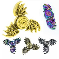 New Arrival Fidget Spinner The wings of the Dragon Game of Thrones Magic Eye Gyro Metal Hand Spinner Fingertip Spinning Top Toys - Direwolf Shop Direwolf Shop