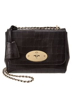 MULBERRY Mulberry Lily Croc-Embossed Leather Shoulder Bag .  mulberry  bags   shoulder bags  hand bags  leather  lining   2e0aec864466f