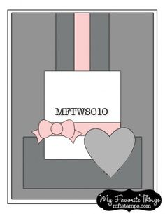 MFT Wednesday Stamp Club Sketch #10. #cards #sketch #card_making #scrapbooking
