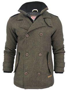 Mens Tokyo Laundry Short Jacket 'Utika' Tweed Elbow Patch | eBay