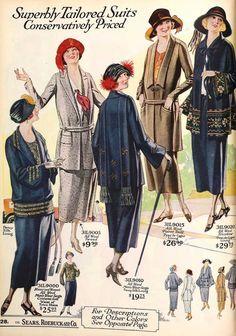 1923 Fashions IN COLOUR!