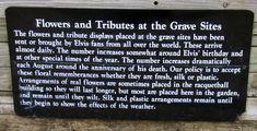 Memorials to Elvis Presley at Graceland, Memphis, Tennessee -