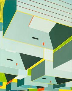 "Asmund Havsteen-Mikkelsen, ""Hysteria Lane"", 2013 Oil on canvas, 134 x 105 cm"