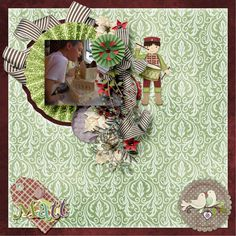 The 12 Days of Christmas Page Kit #thestudio #digitalscrapbooking
