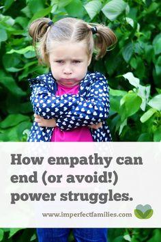 Using Empathy to Avoid a Power Struggle