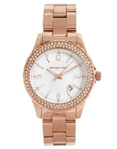 Enlarge Michael Kors Rose Gold Bracelet Watch - i think this might be the one! Michael Kors Rose Gold, Michael Kors Watch, New Years Outfit, Jewelry Necklaces, Bracelets, Jewlery, Gold Watch, Bracelet Watch, Pink Ladies