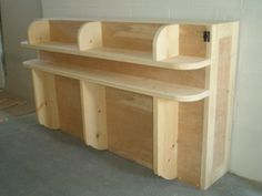 Horizontal Murphy Bed Plans | prev next