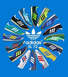 Adidas Originals SL72, SPEZIAL, SL76, 1609ER, 3 STRIPES,