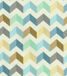 Waverly Upholstery Fabric-Tip Top Ethereal
