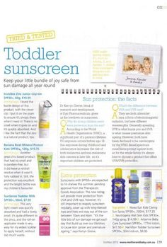 ABC Sunscreen featured in this article Arbonne Independent Consultant. ID#116379517