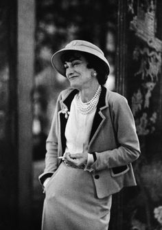 Coco Chanel - photo by Mark Shaw