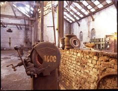 Boulonnerie Boël à La Louvière #spaque #rehabilitation #remediation #fricheindustrielle #brownfields