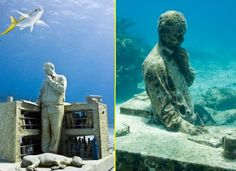 13 Submerged Sculptures That Will Take Your Breath Away - brainjet.com
