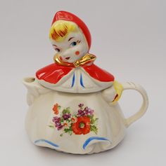 Hull Little Red Riding Hood Teapot... Grammie used to have one similar to this in her hutch in her kitchen.