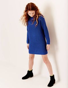 Margot Jumper Dress 91304 Dresses at Boden