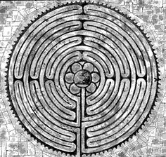 One of the things that distinguishes a labyrinth from a maze is that all paths lead to the center.  You can never be lost in a labyrinth.  All you need to do is keep walking the Path.