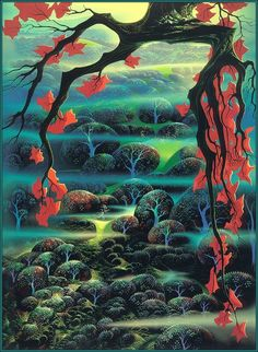 Eyvind Earle - Valley Of Dreams http://www.eyvindearle.com/TheWork.aspx
