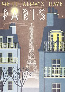 Torre Eiffel Parigi Casablanca Art Deco Poster di RedGateArts The post Paris Eiffel Tower Casablanca Art Deco Stampa Poster Vintage French City 1940 Vogue Cityscape Travel Vacation Romantic Movie Quote appeared first on Italy Moda. Retro Poster, Art Deco Posters, Poster S, Vintage Travel Posters, Poster Prints, Paris Poster, Film Posters, Paris Torre Eiffel, Paris Eiffel Tower