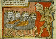 Fifth trumpet of the Apocalypse, France 1220-70. Bib de Toulouse