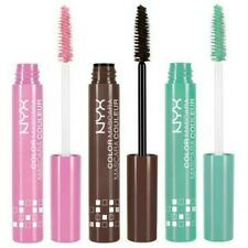 Think beyond the ordinary with these fun and vibrant new mascara options from NYX Professional Makeup. Go for it - we dare you. Choose Your Shade! Makeup Beauty Box, Nyx Makeup, Back To School Makeup, Affordable Makeup Brushes, Makeup For Sale, Milani Cosmetics, Mascara Tips, Clear Mascara, Everyday Makeup Routine