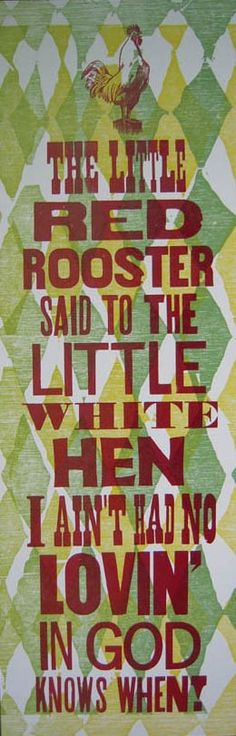Red Rooster by justajar on Etsy, $15.00