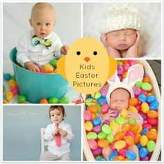 Kids Easter Pictures; Make It a Day to Remember with Great Photos! #Easter