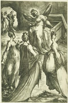 The Three Marys at the Tomb with the Angel (c.1610)