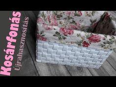 DIY Kosárfonás új módja újságpapírból / Papírfonás / Newspaper Basket - YouTube Origami And Quilling, Paper Crafts Origami, Cardboard Crafts, Diy Paper, Jute Crafts, Diy Arts And Crafts, Creative Crafts, Crafts To Make, Diy Crafts
