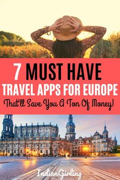 Do you want to know how to travel Europe for cheap? Here are 7 Travel apps that will help you find the cheapest flights, the best bus and train connections, book hotels and apartments and make the most of your vacation in Europe! Solo Travel Europe, Travel Europe Cheap, Cheap Places To Travel, Travel Usa, Traveling Europe, Backpacking Europe, Budget Travel, Europe Packing, European Travel