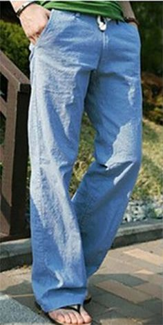 pantalone uomo moda estate casual sportivo lino nero grigio sabbia celesti verdi