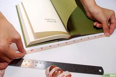 How to Sew a Fabric Book Cover: 9 Steps (with Pictures) - wikiHow