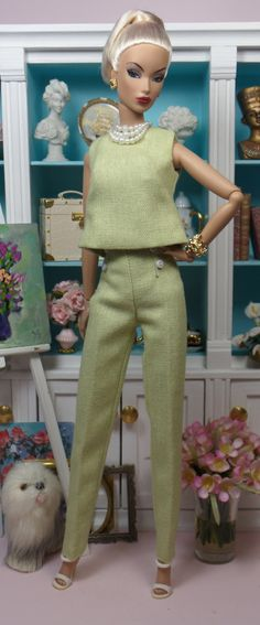 The Shores in Pastel Pink and Green | Matisse Fashions and Doll Patterns