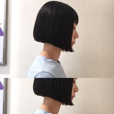 いいね!69件、コメント1件 ― Satoshi Matsumotoさん(@mtmtsts)のInstagramアカウント: 「あごレングスのリトルブラックボブ✂️✨✨✨#shimaplus1 #shima #BOB#ボブ #leon #マチルダボブ #吉祥寺美容室 #ぱっつん #casual #hairstyle…」