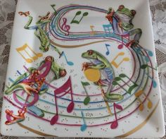 Firebrickart • View topic - The Frog Concert by Yumiko, Japan