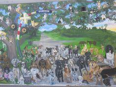 """Dunedin, Florida Mural (downtown) - """"Dogedin"""""""