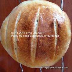 Paine de casa traditionala ungureasca   Savori Urbane Bread, Cabana, Food, Bread Baking, Brot, Essen, Cabanas, Baking, Meals
