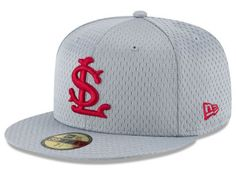 St. Louis Cardinals New Era MLB Batting Practice Mesh 59FIFTY Cap--size 7 1/4 Mlb, New Era Cap, Fitted Caps, Fan Gear, Cardinals, St Louis, Baseball Hats, Kids, Collection