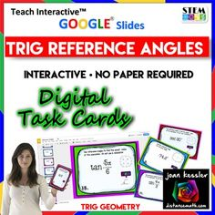 In this no prep fun activity, students determine reference angles for positive and negative angles in both degrees and radians, and also use reference angles to find the six trigonometric functions of angles. This can be used in Trigonometry, PreCalculus, Geometry, Algebra 2.