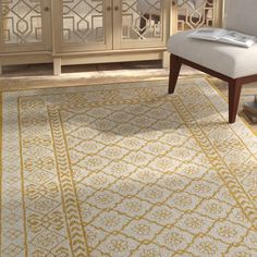 Bungalow Rose Tulsa Handmade Tufted Wool Brown Rug & Reviews | Wayfair Brown Rug, Grey And Gold, Shades Of Yellow, William Morris, Accent Pieces, Animal Print Rug, Area Rugs, Indoor, Wool