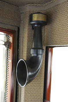 Hispano Suiza T49 Limusina por J. Forcada - Dictógrafo interior MANUEL GONZALEZ