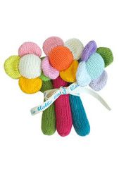 Our flower rattles make a great gift for little ones! http://treehousekidandcraft.com/