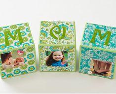 Kids Craft Blog by PlaidOnline.com - Monday Funday: Mother's Day Photo Blocks